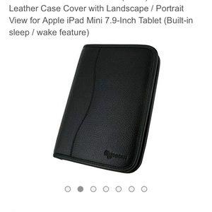 Other - iPad Mini Leather Case/Portfolio